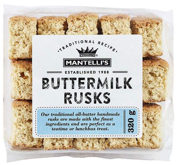 Rusk pack - buttermilk