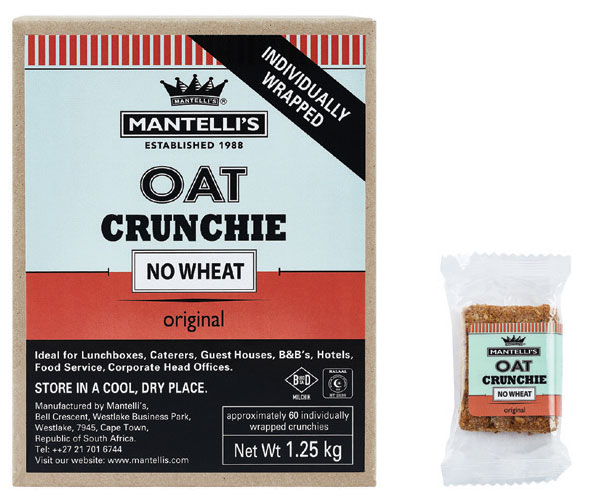 Oat crunchie no wheat - original